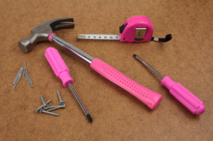 Pink handy tools dream