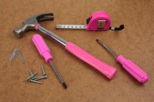 Pink handy tools dream